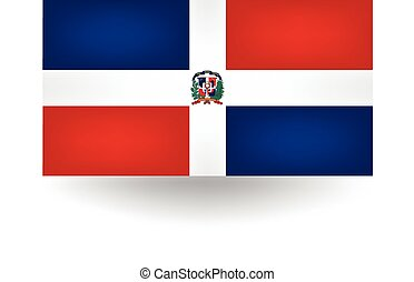 Dominican Republic Flag - Official flag of the Dominican...