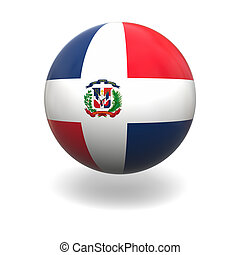 Dominican Republic flag - National flag of Dominican...