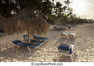 Dominican Republic Landscape - beach Landscape from Punta...