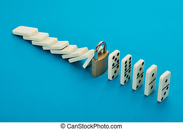 Domino And Lock