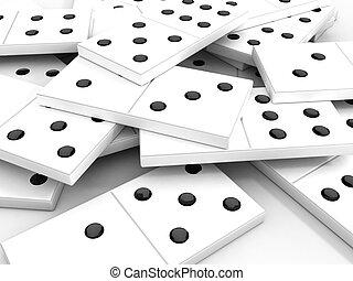 Lumi re dispers os arri re plan noir dominos brillant - Coloriage domino ...
