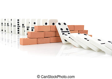 domino effect - Concept for a planned Strategy to stop a...