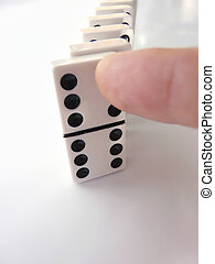 Domino-Effect - A Domino-Game
