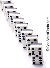 domino in a row