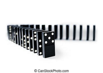 Domino lines
