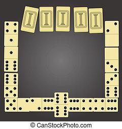 domino, morceaux