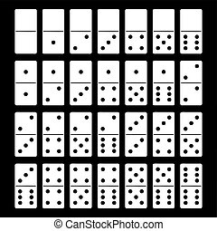 domino stel, illustratie