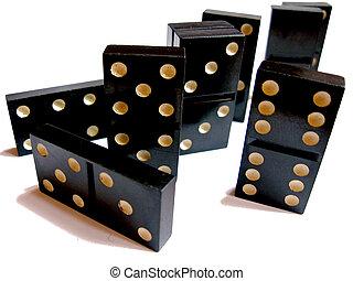 Dominoe - Board game dominoe for leisure time