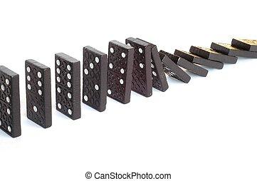 Dominoes - Domino effect