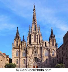 domkyrka, barcelona