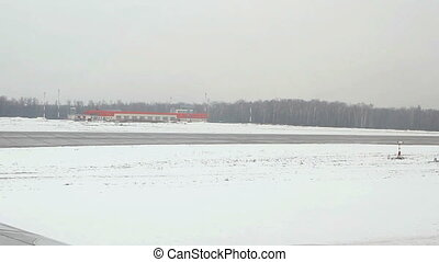 Domodedovo International airport. - Moscow, Russian...