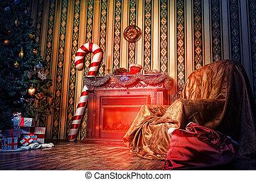 domovní, vánoce