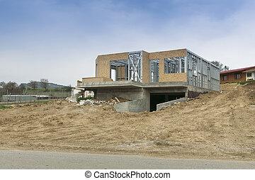 domowe zbudowanie, nowy