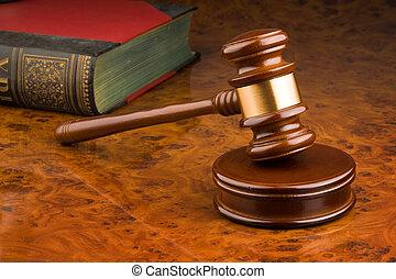 domstol, hammare