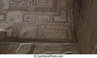 Domus Aurea built by the Emperor Nero in Rome, Italy