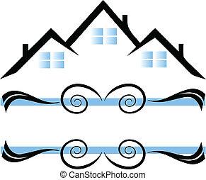 domy, logo