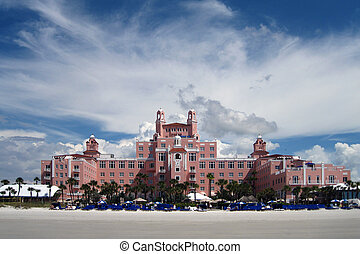 Don Ce Sar Hotel St. Petersburg Florida