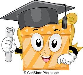 don graduation, mascotte
