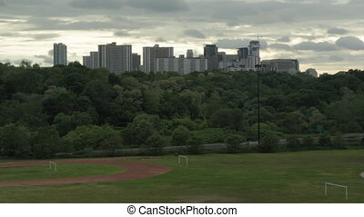 Don Valley. Dramatic Timelapse.
