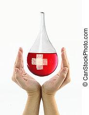 donación, sangre
