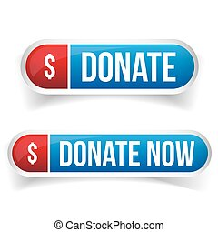 Donate and Donate now button