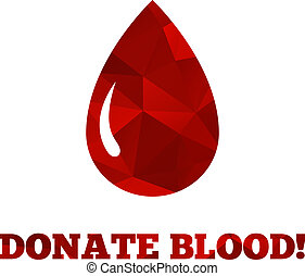 Donate blood background