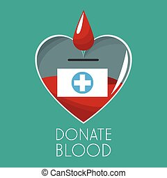 donate blood campaign design