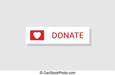 Donate button icon14