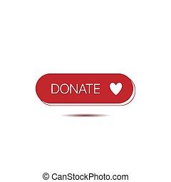 Donate button template