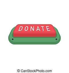Donate buttons set. Help icon donation - Donate button. Help...