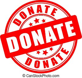 Donate circle sign