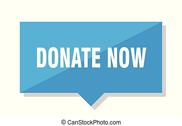 donate now price tag
