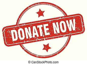 donate now sign