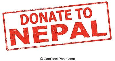 Donate to Nepal