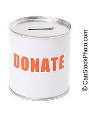 Donation Box, concept of Donation
