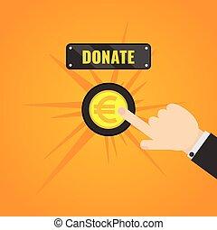 Donation Euro Button
