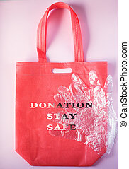 donation, livraison, gloves., sécurité, séjour, sac, mesures...