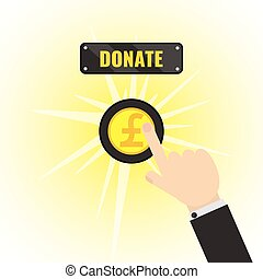 Donation Pound Button