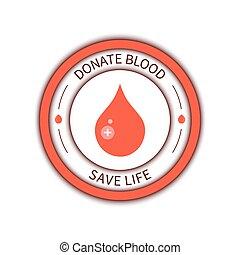 donation sang, affiche