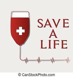 donation, sanguine