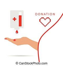 donation symbol illustration