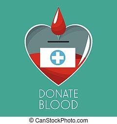 donera, design, blod, kampanj