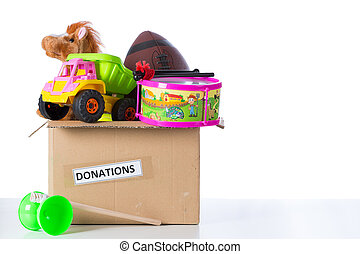 doneren, toybox