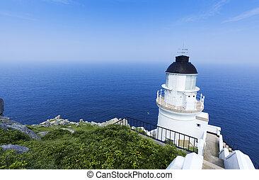 Dongyong Lighthouse, Dong Yin Coast line ,Matsu, Taiwan