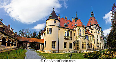donji, hofburg, kroatien, panorama, miholjac