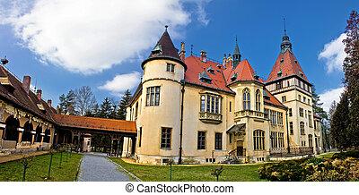 Donji Miholjac castle panorama, Croatia - Donji Miholjac...
