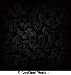 donker, behang, retro, achtergrond