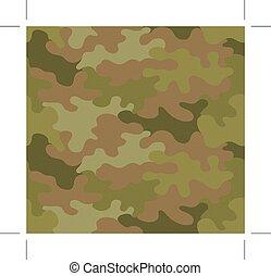donker, bruine , camouflage