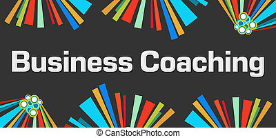 donker, coachend, zakelijk, kleurrijke, achtergrond