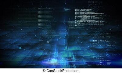 donker, data, informatie, achtergrond